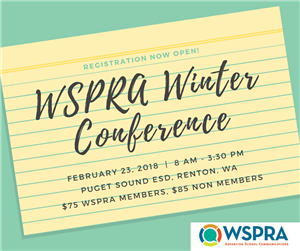 WSPRA Winter Conference